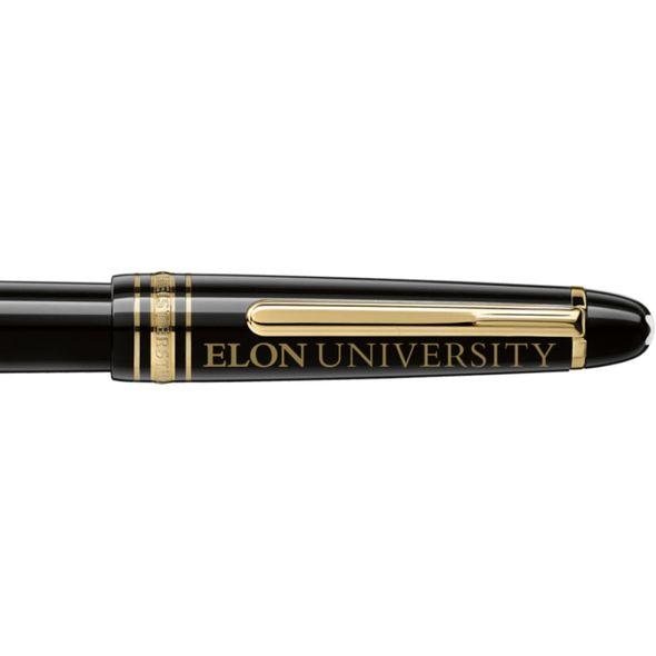 Elon Montblanc Meisterstück Classique Fountain Pen in Gold - Image 2