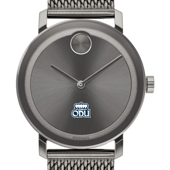Old Dominion University Men's Movado BOLD Gunmetal Grey with Mesh Bracelet