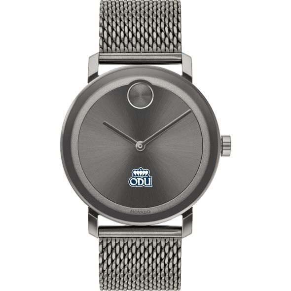Old Dominion University Men's Movado BOLD Gunmetal Grey with Mesh Bracelet - Image 2