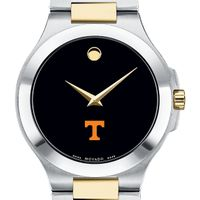 Tennessee Men's Movado Collection Two-Tone Watch with Black Dial