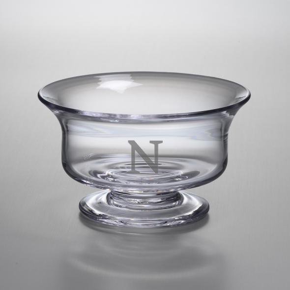 Northwestern Medium Glass Revere Bowl by Simon Pearce