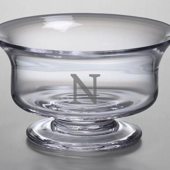 Northwestern Medium Glass Revere Bowl by Simon Pearce - Image 2