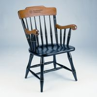 Northwestern Captain's Chair by Standard Chair
