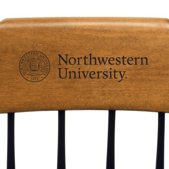 Northwestern Captain's Chair by Standard Chair - Image 2