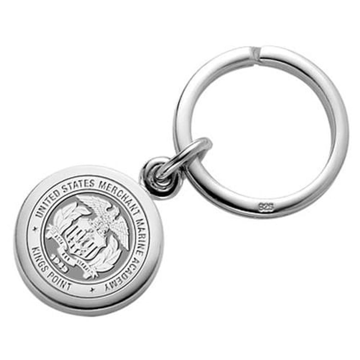 us merchant marine academy sterling silver insignia key ring Jefferson Nickel Values