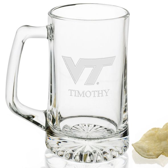 Virginia Tech Glass Stein - Image 2