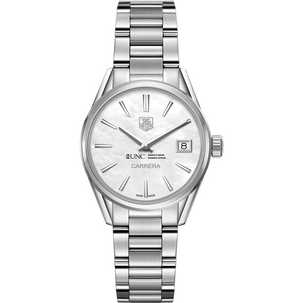 UNC Kenan-Flagler Women's TAG Heuer Steel Carrera with MOP Dial - Image 2