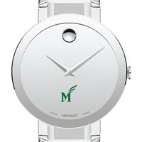 George Mason University Men's Movado Sapphire Museum with Bracelet