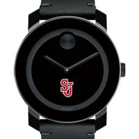 St. John's Men's Movado BOLD with Leather Strap