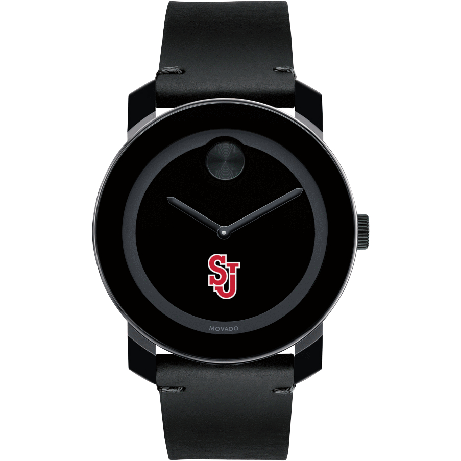St. John's Men's Movado BOLD with Leather Strap - Image 2