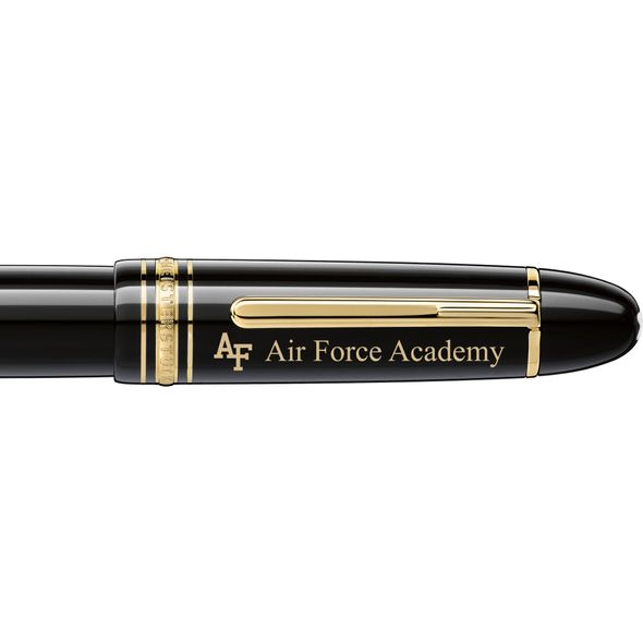 USAFA Montblanc Meisterstück 149 Fountain Pen in Gold - Image 2