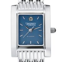 UVA Women's Blue Quad Watch with Bracelet