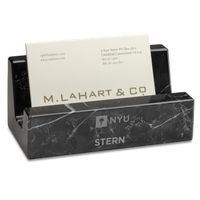 NYU Stern Marble Business Card Holder