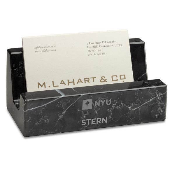 NYU Stern Marble Business Card Holder - Image 1