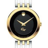 George Washington Women's Movado Esparanza Two-Tone Museum with Bracelet