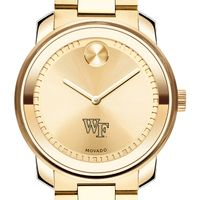 Wake Forest University Men's Movado Gold Bold