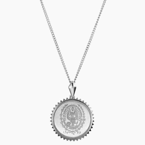 Georgetown Sterling Silver Sunburst Necklace by Kyle Cavan - Image 2