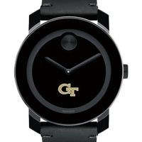 Georgia Tech Men's Movado BOLD with Leather Strap