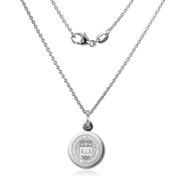 Boston College Necklace with Charm in Sterling Silver - Image 2