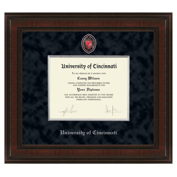 Cincinnati Diploma Frame - Excelsior - Image 1