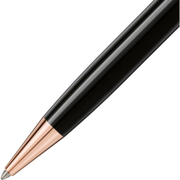 UVA Darden Montblanc Meisterstück Classique Ballpoint Pen in Red Gold - Image 3