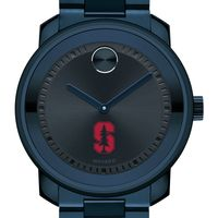 Stanford University Men's Movado BOLD Blue Ion with Bracelet