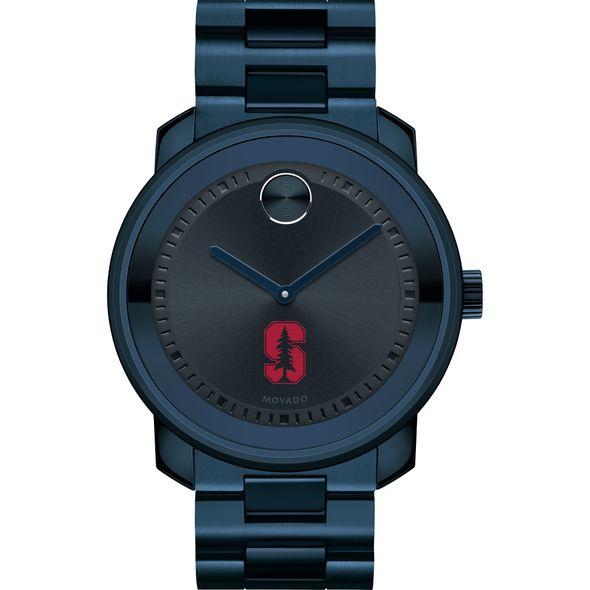 Stanford University Men's Movado BOLD Blue Ion with Bracelet - Image 2