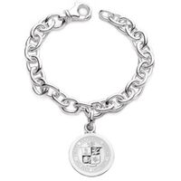 Virginia Tech Sterling Silver Charm Bracelet