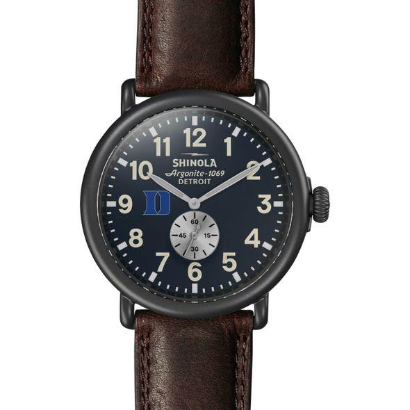 Duke Shinola Watch, The Runwell 47mm Midnight Blue Dial - Image 2