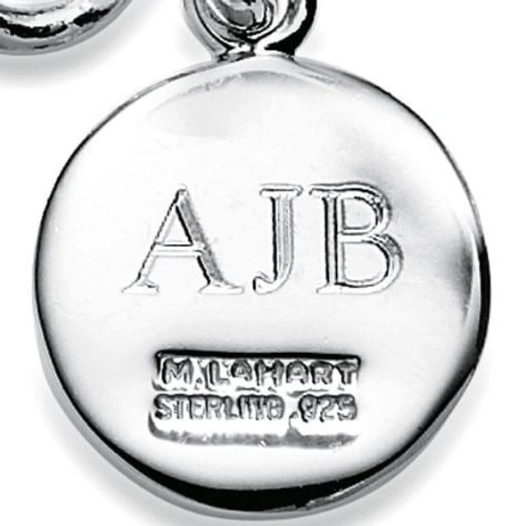 Auburn University Necklace with Charm in Sterling Silver - Image 3