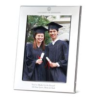 Ole Miss Polished Pewter 5x7 Picture Frame