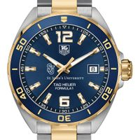 St. John's Men's TAG Heuer Two-Tone Formula 1 with Blue Dial & Bezel