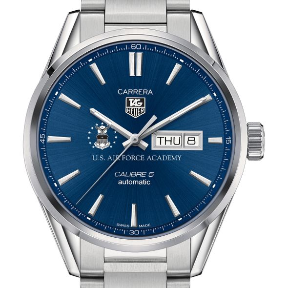 US Air Force Academy Men's TAG Heuer Carrera with Day-Date - Image 1