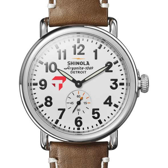 Tepper Shinola Watch, The Runwell 41mm White Dial - Image 1