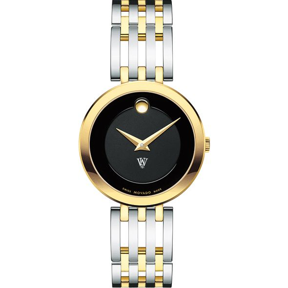 WashU Women's Movado Esparanza Two-Tone Museum with Bracelet - Image 2