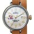 LSU Shinola Watch, The Birdy 38mm MOP Dial - Image 1