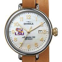 LSU Shinola Watch, The Birdy 38mm MOP Dial