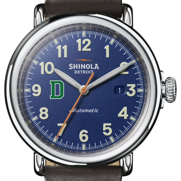 Dartmouth Shinola Watch, The Runwell Automatic 45mm Royal Blue Dial - Image 1