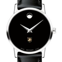 US Military Academy Women's Movado Museum with Leather Strap