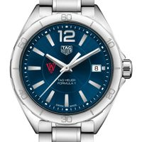WashU Women's TAG Heuer Formula 1 with Blue Dial