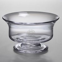 Syracuse University Simon Pearce Glass Revere Bowl Med