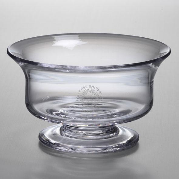 Syracuse University Simon Pearce Glass Revere Bowl Med