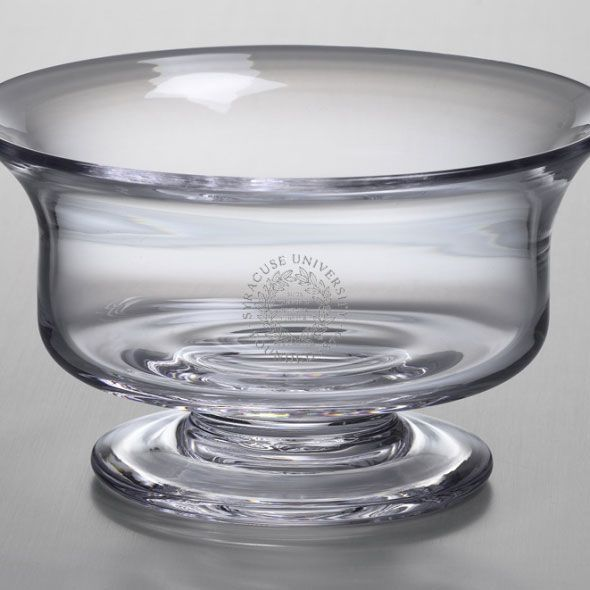 Syracuse University Simon Pearce Glass Revere Bowl Med - Image 2