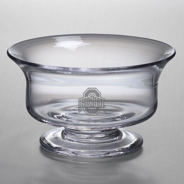 Ohio State Simon Pearce Glass Revere Bowl Med - Image 1