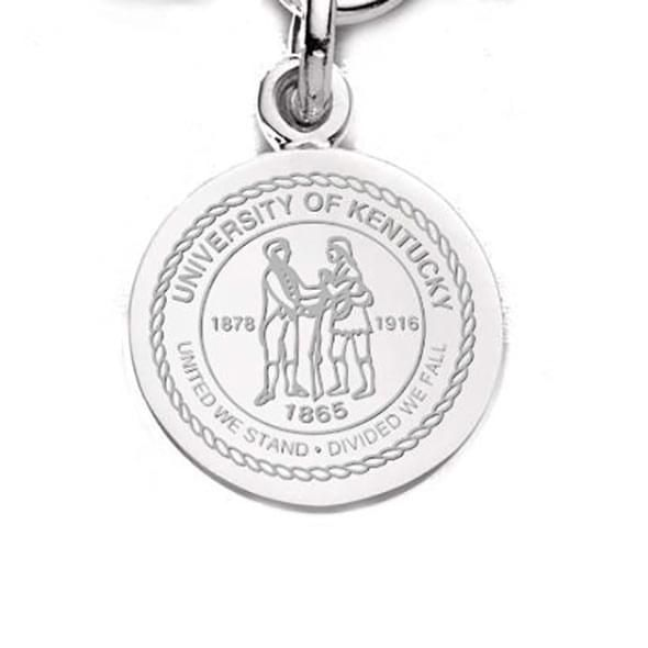 Kentucky Sterling Silver Charm