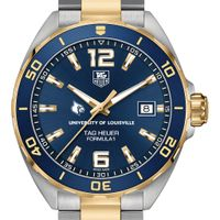 Louisville Men's TAG Heuer Two-Tone Formula 1 with Blue Dial & Bezel