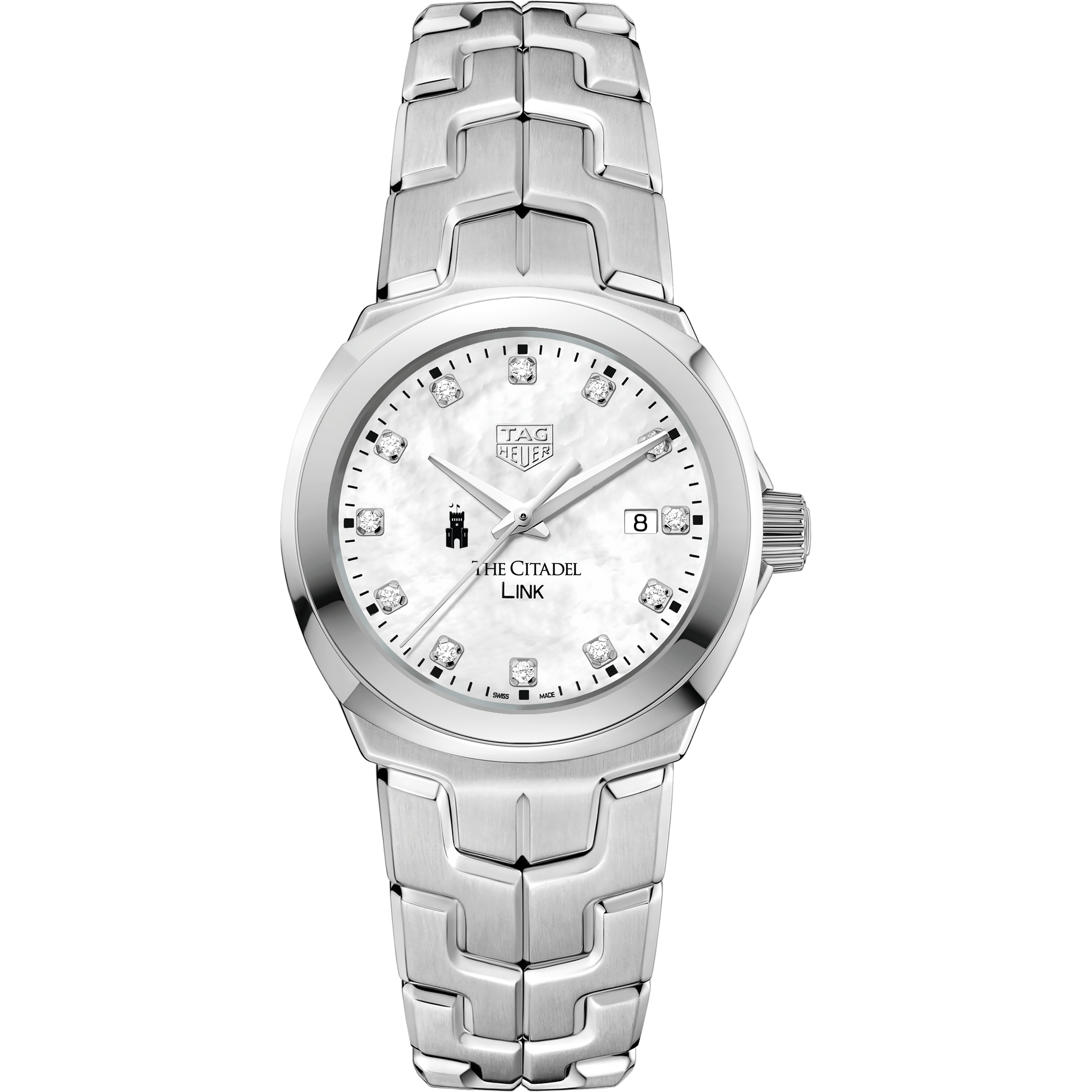 Citadel TAG Heuer Diamond Dial LINK for Women - Image 2