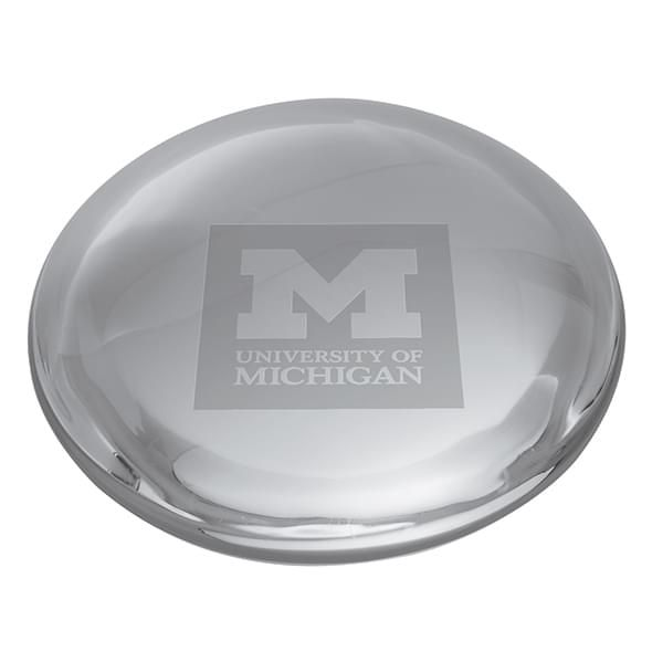 Michigan Glass Dome Paperweight by Simon Pearce - Image 2