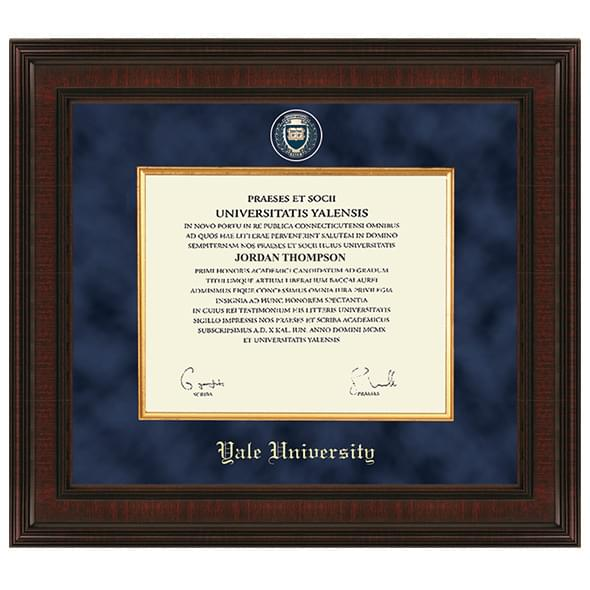 Yale University Diploma Frame - Excelsior | Graduation Gift