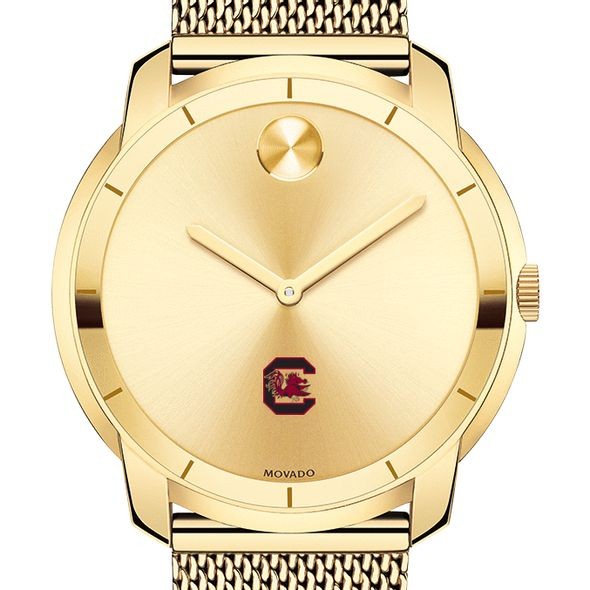 University of South Carolina Men's Movado Gold Bold 44 - Image 1